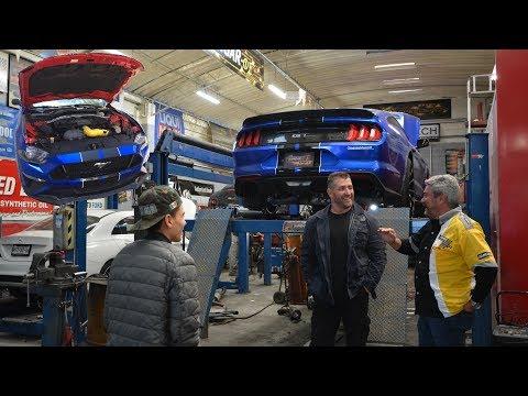 Franky Mostro y Manuel Rivera se encuentran en Hangar 1