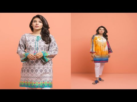 latest-beech-tree-summer-kurtis-collection-|-fashion-world