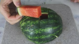Awesome Way to Cut Watermelon