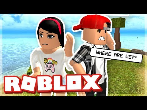 STRANDED ON A DESERTED ISLAND WITH MY GIRLFRIEND! - ROBLOX BOOGA BOOGA
