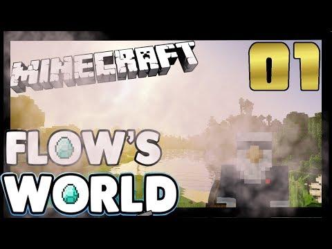 Minecraft: Flows World -  Episode 01 - Something Old Something New Minecraft 1.12 Singleplayer