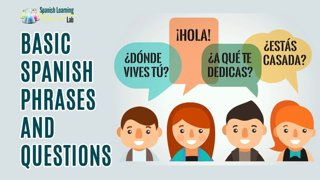 Basic Spanish Phrases and Questions: Examples + Conversations