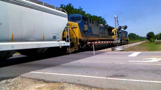 CSX Meets the Amtrak Autotrain