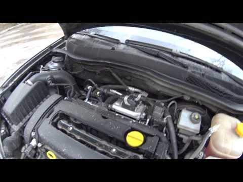 Опель Астра H Opel Astra H затроил двигатель. Замена модуля зажигания