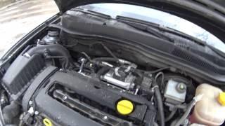 Опель Астра H (Opel Astra H) затроил двигатель. Замена модуля зажигания