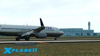 СТРИМ UNITED AIRLINES / KATL (Atlanta Intl.) - KMCO / ZIBOMOD BOEING 737 | X-Plane 11 #7