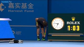 Andy Murray Bizarre Hot Shot Beijing 2014