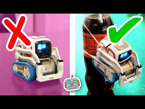 Cozmo tries RIDICULOUS life hacks from 5-Minute Crafts