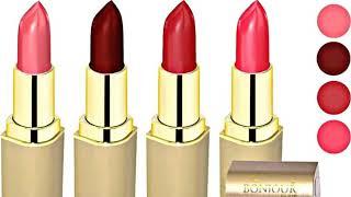 Bonjour Paris Coat Me Cream Lipstick Swatches, Long Lasting, Vitamin E Enriched | BEAUTY EXPRESSWAY