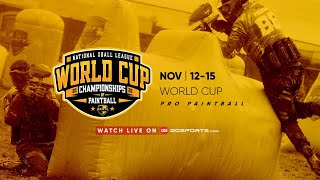 Sunday | NXL World Cup PRO Paintball