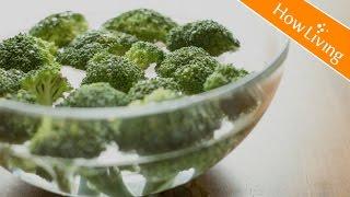 【料理秘訣Eng Sub】3步驟洗花椰菜小技巧 不農藥殘留 How To Clean Broccoli? │HowLiving 美味生活