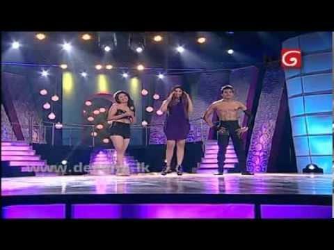 Hashini Hasini Gonagala Hot Dance Thighs Legs Show