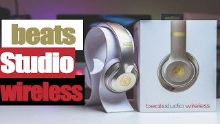 Beats Studio Wireless GOLD Unboxing(Beats Studio Wireless GOLD Unboxing Winner #1 of Blue Snowball Ice - Keith Tucker (Congratulations) **Gleam winners please check your email: Vincent ..., 2017-02-21T10:36:46.000Z)