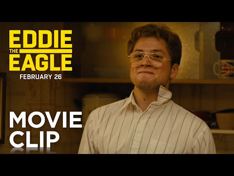 "Eddie the Eagle | ""I'm Going To Be An Olympic Ski Jumper"" Clip 