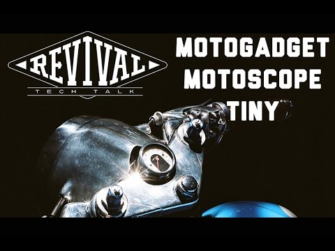 Motoscope Tiny - Revival Cycles Tech Talk