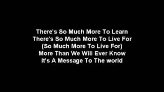 Story of The Year-Message To the World(Lyrics)