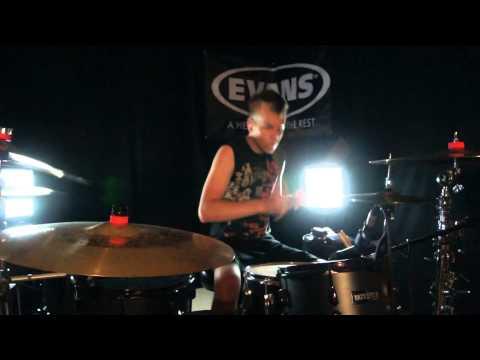 Skillet - Freakshow - Drum Cover - Brooks (feat. Seth Morrison of Skillet)