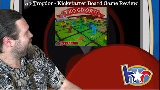 Trogdor!! - Homestar Runner - Board Game Review