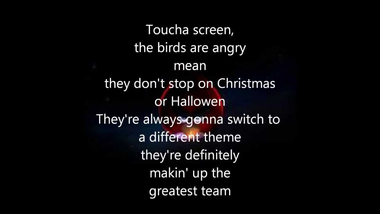 Bshap:The Angry Birds Rap Lyrics | LyricWiki | FANDOM ...