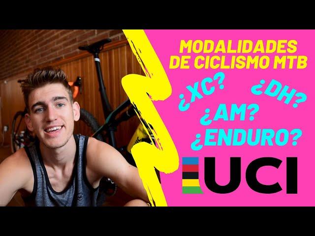 Modalidades de ciclismo mtb! (Tipos de ciclismo, categorías, XC, DH, Enduro...)