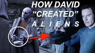 Alien Cov. Deleted Scene Explains How David Created Xenomorphs