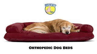 Best Orthopedic Dog Beds 2018 On Amazon [Must Buy Top 10 Products]