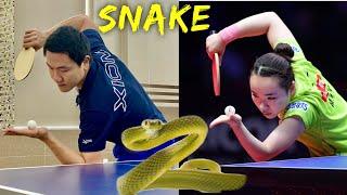Mima Ito Serves HOOK like a Snake   Tutorial & Secrets (Part1)