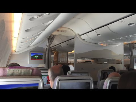 Emirates Flight Experience: EK388 Dubai to Yangon