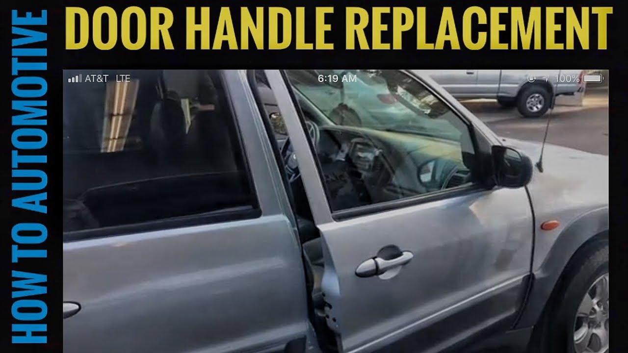 2002 Mazda Tribute Inside Door Handle