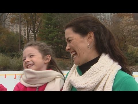 Nancy Kerrigan Gets Back on the Ice with ET