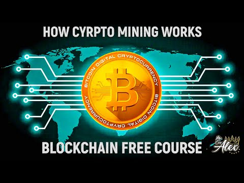 How Does Crypto Mining Works Part 1 - Build A Blockchain \u0026 Cryptocurrency|