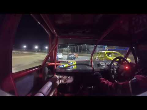 T10 Tumble Latrobe Speedway Junior Sedans 30th Dec 2017 GoPro footage