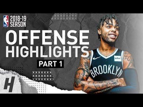 D'Angelo Russell BEST Offense Highlights from 2018-19 NBA Season! 2019 All-Star RESERVE (Part 1)
