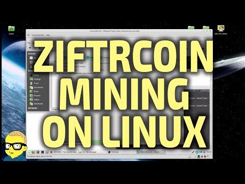 Ziftrcoin Wallet And Mining On Linux