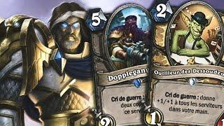 Le deck paladin aggro / buff sur Hearthstone heroes of Neunoeil