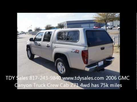 2006-4x4-gmc-canyon-crew-cab-z71-4x4-truck-only-75k-miles-tdy-sales-dfw