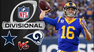 Cowboys vs Rams Highlights | NFL Divisional Round Highlights