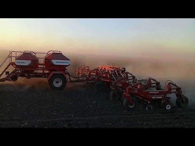 Sembradora Monumental Air Drill 16000 31 surcos a 52 cm con fertilizacion y Sistema Neumatico
