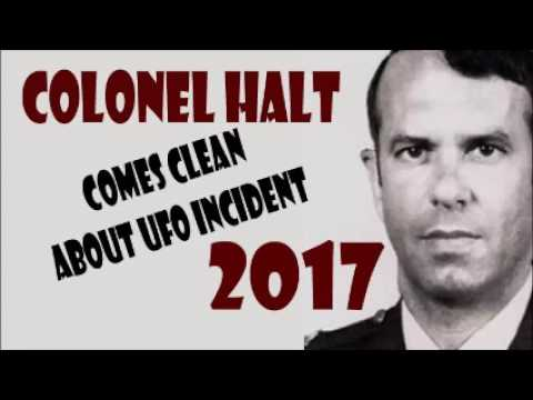 The Truth about Rendlesham Forest incident  / Colonel Charles Halt