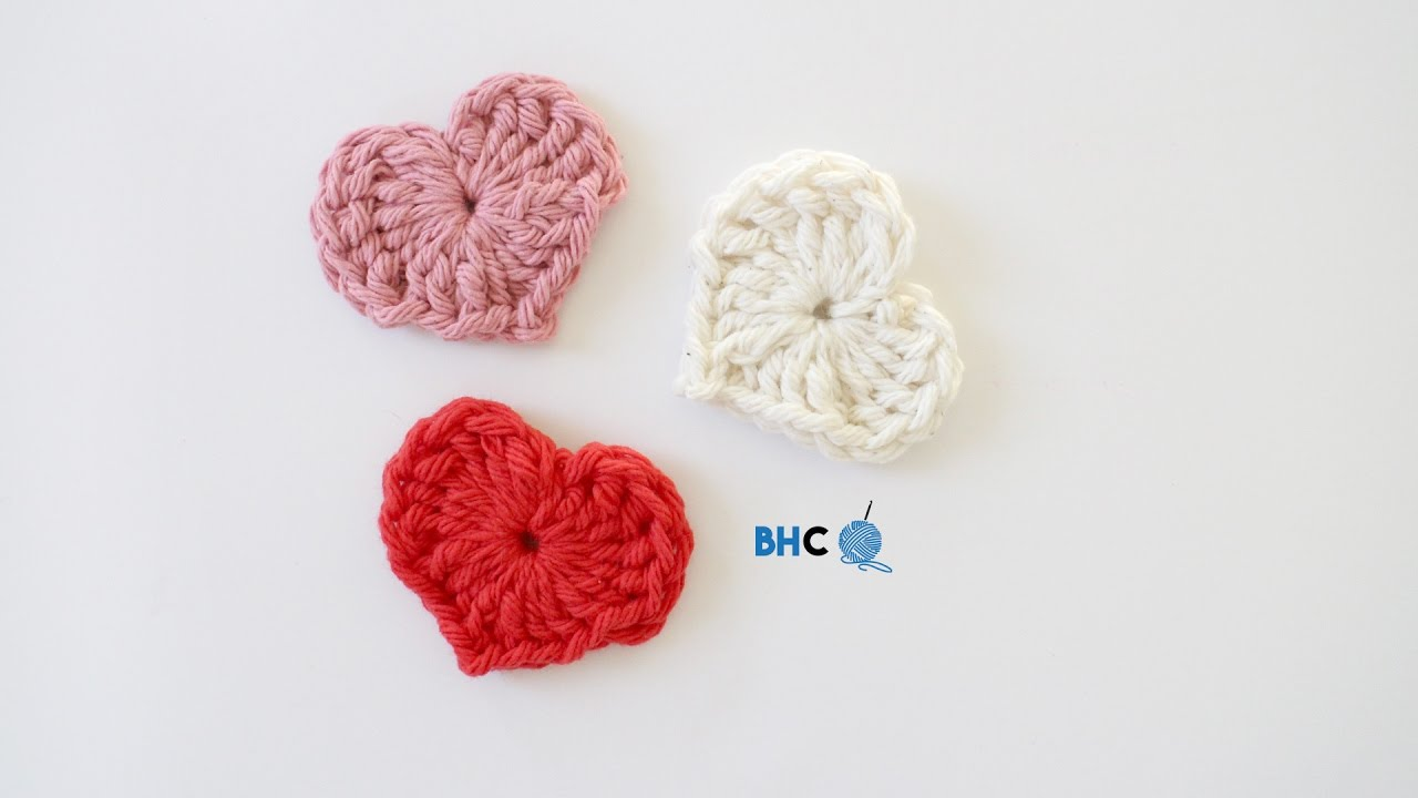 How to crochet a heart using magic ring beginner friendly how to crochet a heart using magic ring beginner friendly tutorial youtube baditri Images