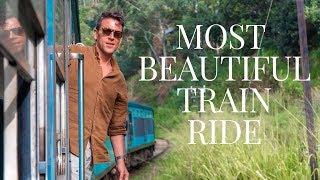 STUNNING TRAIN RIDE IN SRI LANKA | KANDY TO ELLA