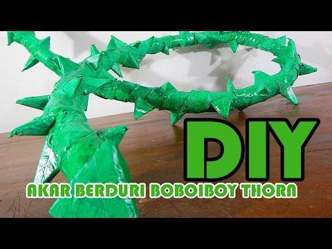 Cara Membuat Akar Berduri BoBoiBoy Thorn