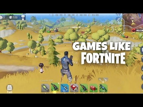 Top 10 Games Like Fortnite For Android 2018 Youtube