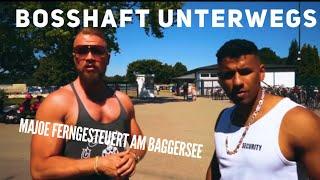 BOSSHAFT UNTERWEGS - Majoe ferngesteuert am Baggersee