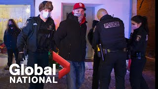 Global National: Jan. 10, 2021 | Quebec's COVID-19 curfew is put to the test