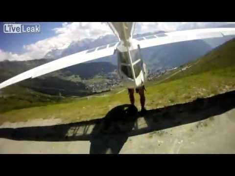 Foot Launched Glider GoPro