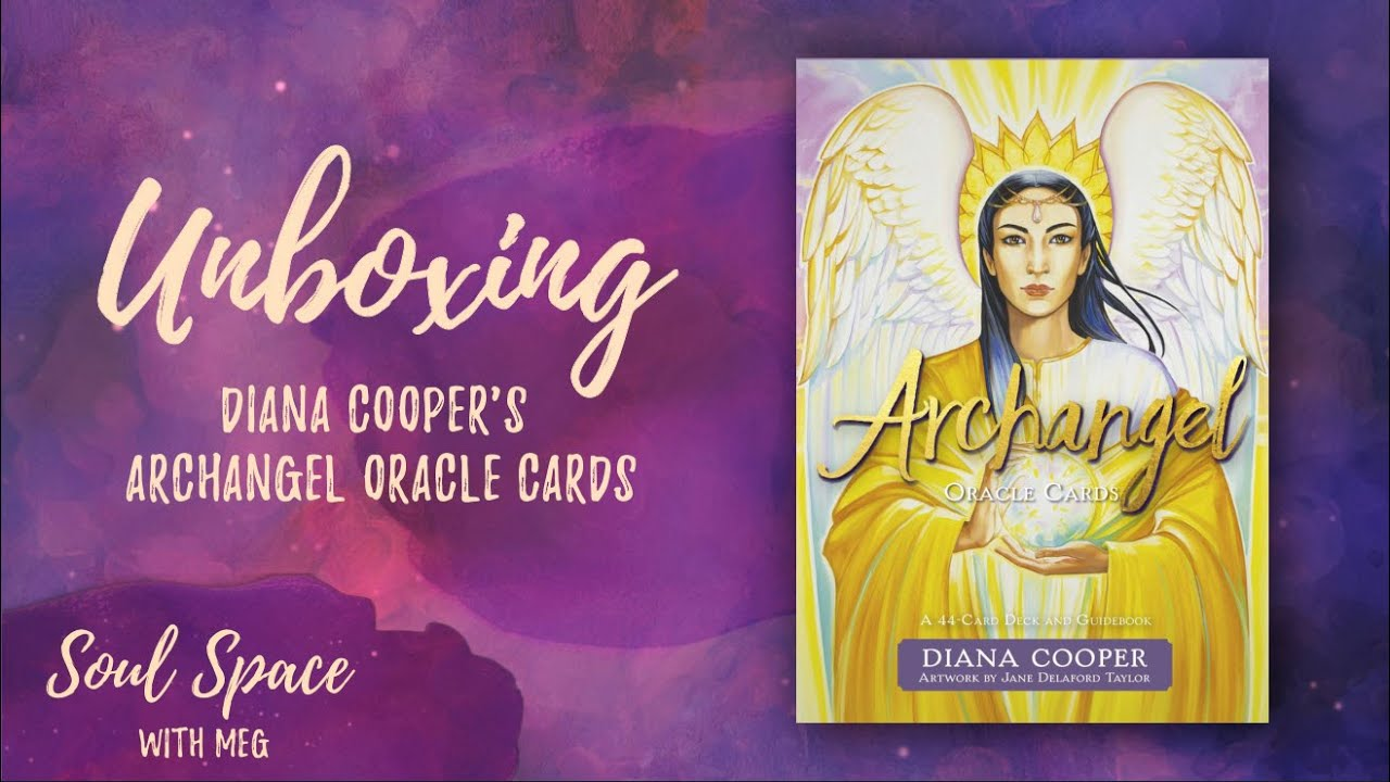 Diana Cooper's Archangel Oracle Cards Unboxing