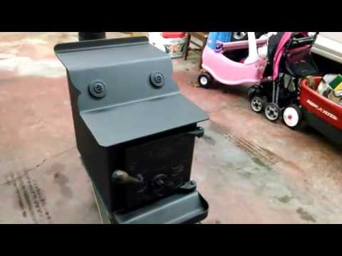 All Nighter Wood Stove,Fisher