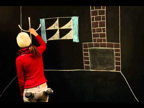 Hilary Grist - Angels We Have Heard On High - Chalkboard Animation
