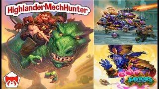 [LEGEND] Highlander Mech Hunter | Saviors of Uldum | Hearthstone |